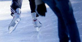 In Danimarca le piste di pattinaggio sul ghiaccio