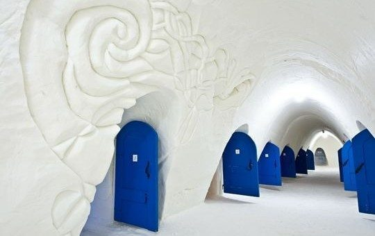 SnowCastle, Natale in igloo, un hotel speciale in Lapponia
