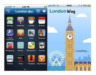 Il meglio di Londra in un'app