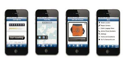 App Samsonite: Travel Miles