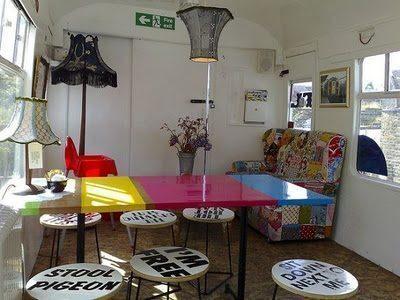 Deptford Cafe, a Londra bevi il caffè dentro un vagone