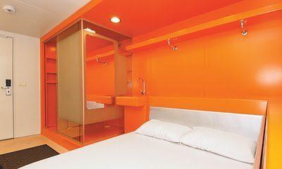 Easyhotel ad amsterdam nel quartiere de pijp viaggi low cost for Stanze ad amsterdam