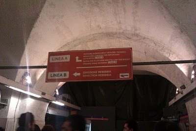 Metropolitana a Roma, da Termini qualche consiglio