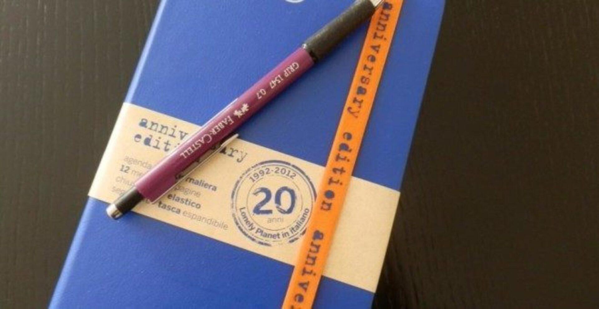 Vinci un'agenda Lonely Planet 2012, ecco come