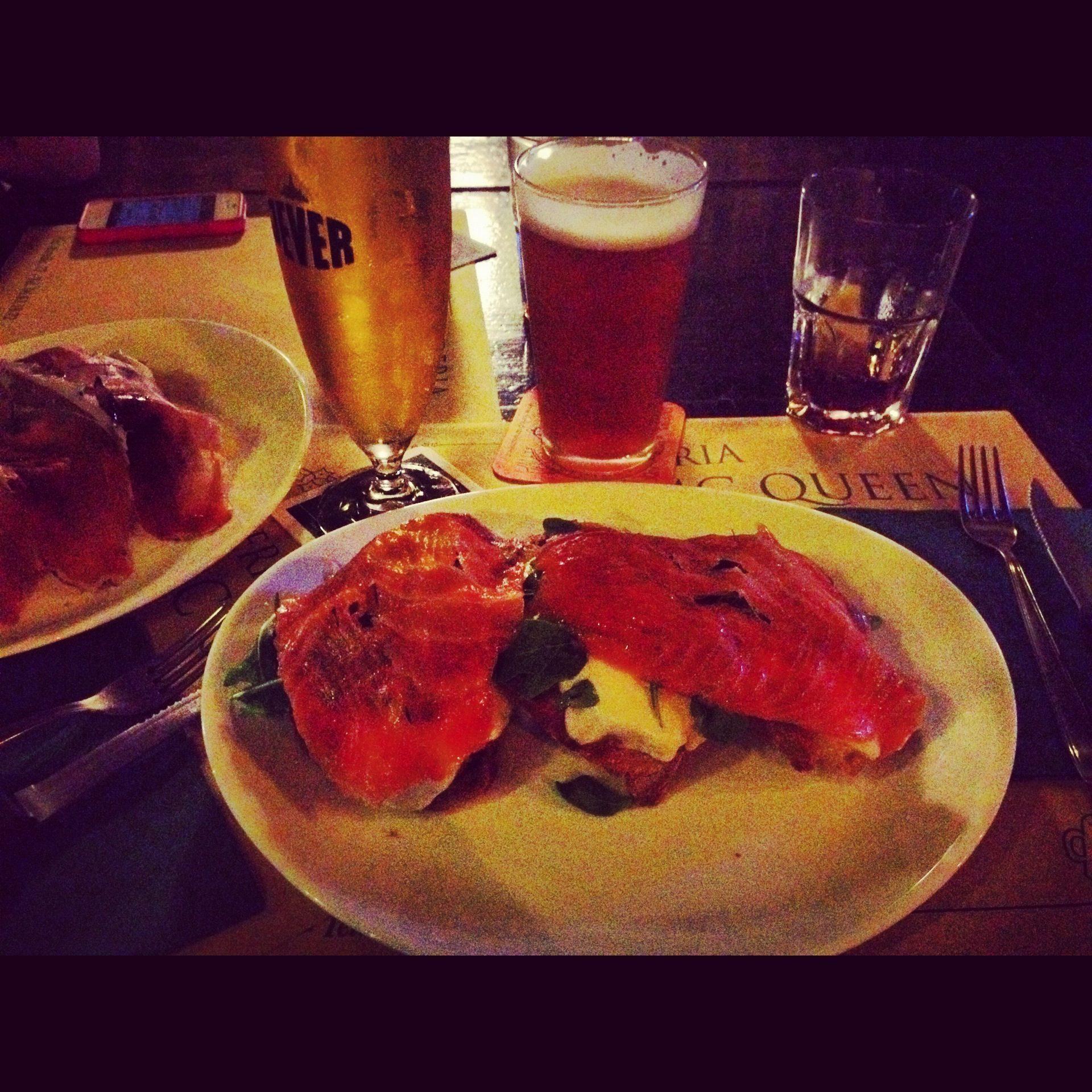 Pub mcqueen a roma dove mangiare il crostone viaggi low for Mangiare tipico a roma