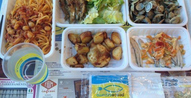 Pesce Azzurro, menù completo a 12€