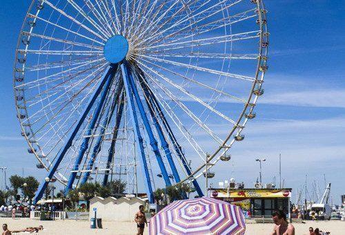 Ruota panoramica a Rimini, orari e prezzi
