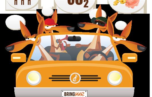 100 Km con un Litro? Con il carpooling si può
