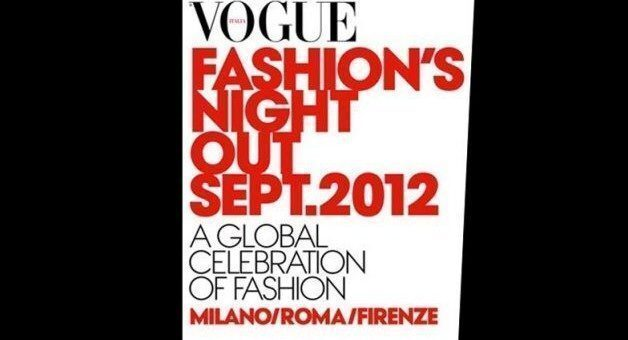 Vogue's Fashion Night Out a Firenze 2012