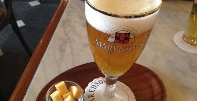 Una birra a Namur: una Maredsous al Caffè le Collège