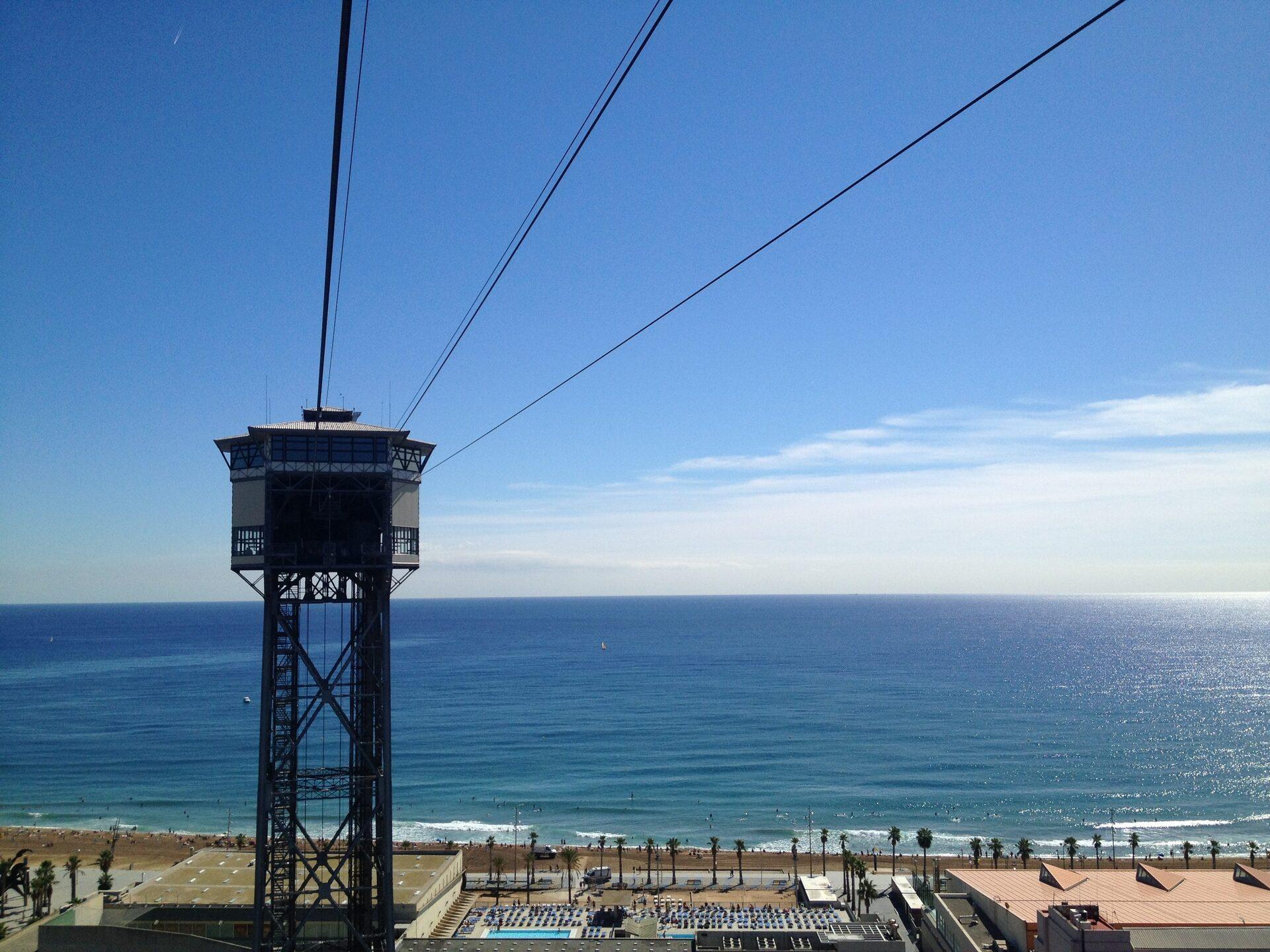 Barcellona salire a montjuic metro teleferica e for Barcellona vacanze low cost