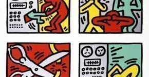 Keith Haring a Palazzo Blu, gratis a Pisa con 6 serigrafie