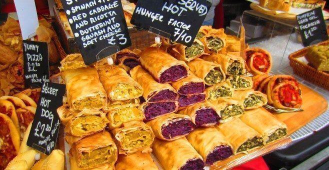 La scoperta dei sapori al Real Food Christmas Market a Londra
