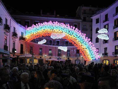 Luci d'artista illuminano San Gregorio Armeno