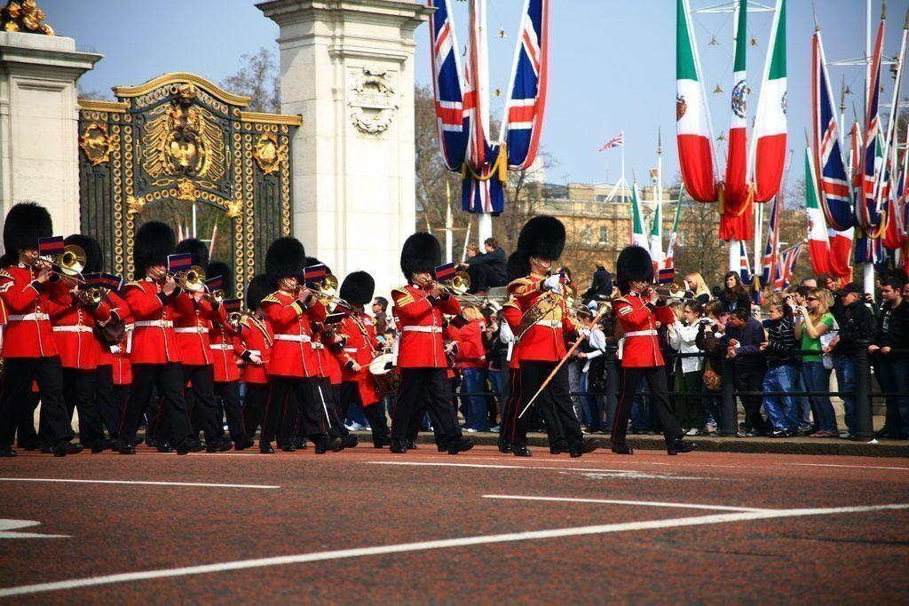 cambio della guardia Londra