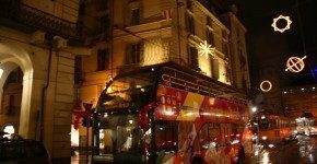 Christmas on the bus a Torino a Natale