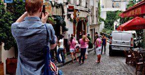 Montmartre a Parigi, luogo romantico e panoramico