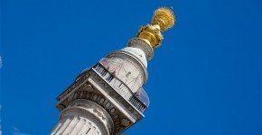 The Monument a Londra e l'incendio del 1666