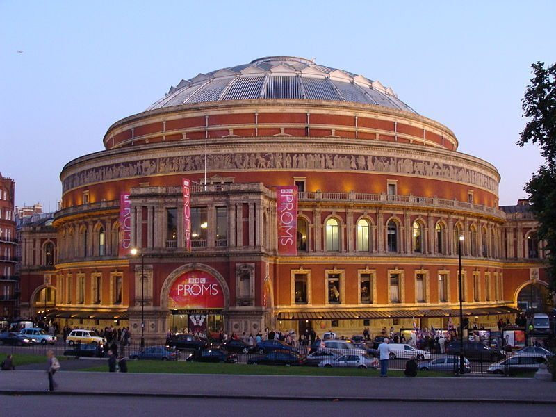 Royal albert hall la sala da concerti pi famosa in for Door 12 royal albert hall