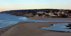 In Portogallo la spiaggia infinita di Foz do Arelho