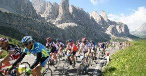 """A spasso con la bici con la """"Maratona delle Dolomiti"""""""
