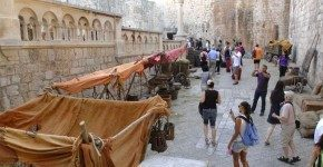 Game of Thrones a Dubrovnik, in Croazia