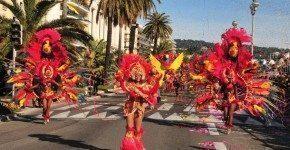 Carnevale a Nizza, la battaglia dei fiori in Francia