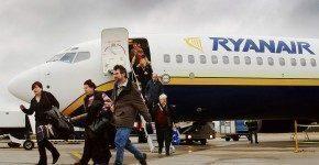 Ryanair voli a 15€ fino a lunedì 14 gennaio
