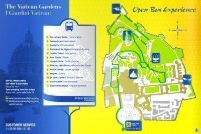 bus giardini vaticani