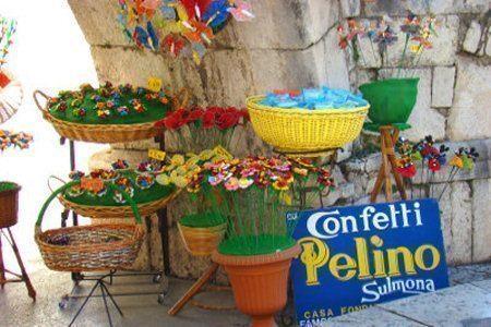 Sulmona, la patria dei confetti con la Fabbrica Pelino