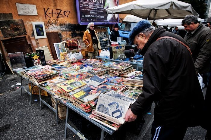 Andar per mercatini in italia un giro in quelli storici - Porta portese rubriche lavoro ...