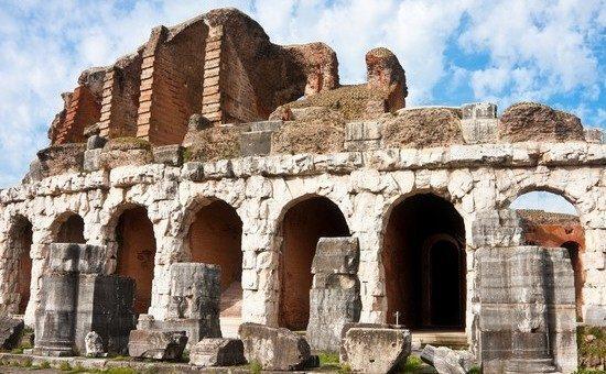 A Santa Maria Capua Vetere, l'anfiteatro che ispirò il Colosseo