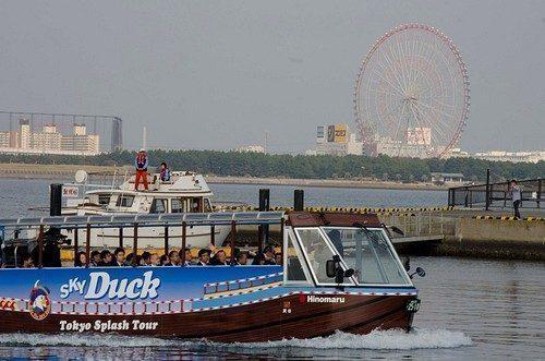 Sky Duck, l'anatra del Giappone per il turismo