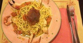 Ostaria dei Centopoveri a Firenze, cena di pesce in pieno centro