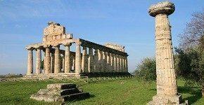 Il Parco Archeologico di Paestum in Campania