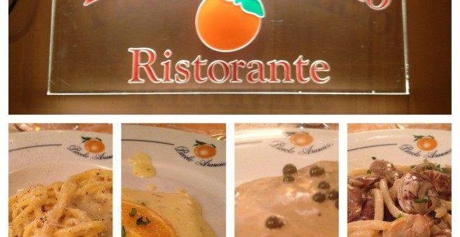 Piccolo Arancio a Roma, dove mangiare specialità romane