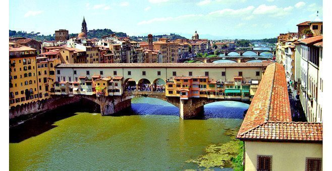 Corridoio Vasariano a Firenze