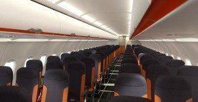 Nuovi interni per Easyjet presentati al Salone del Mobile