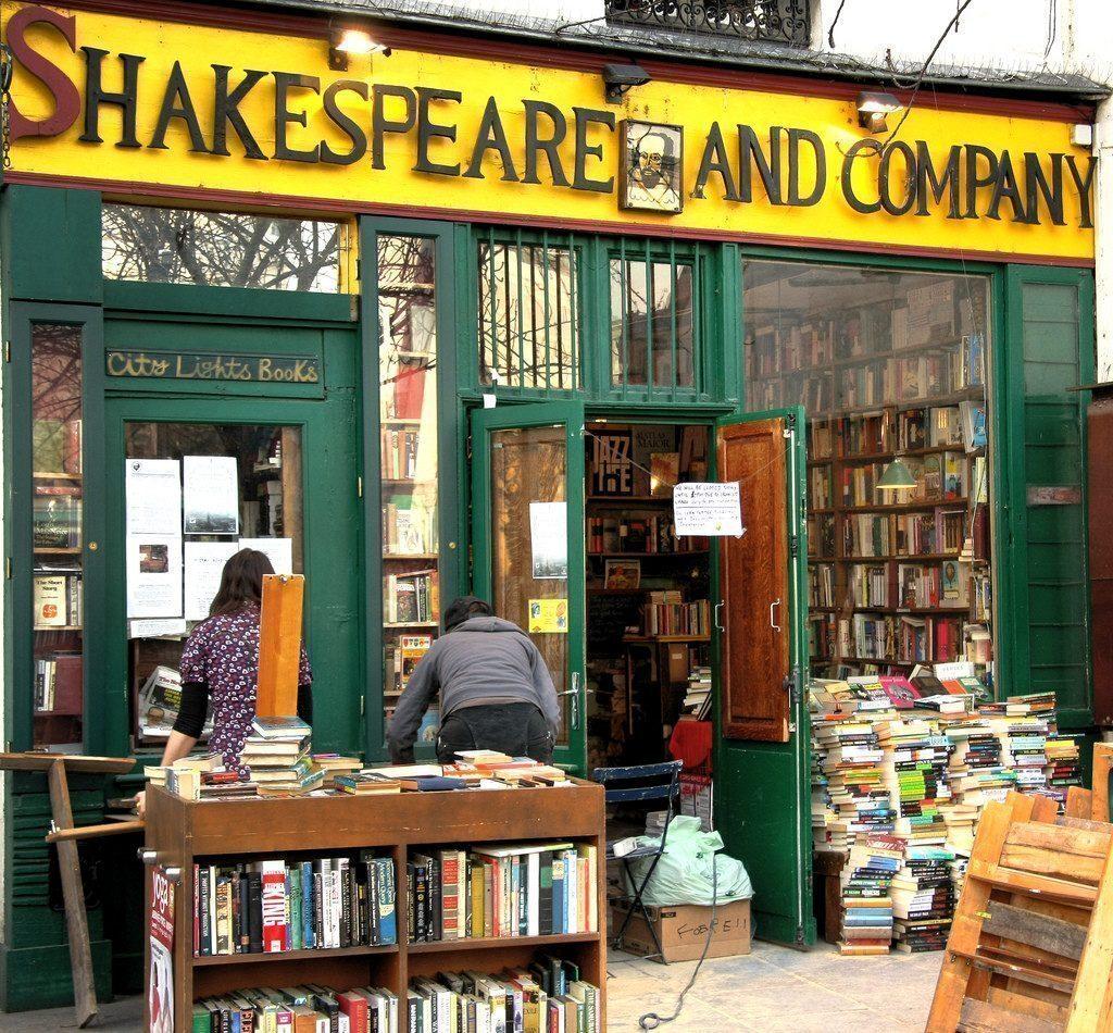 parigi-Shakespeare and Company
