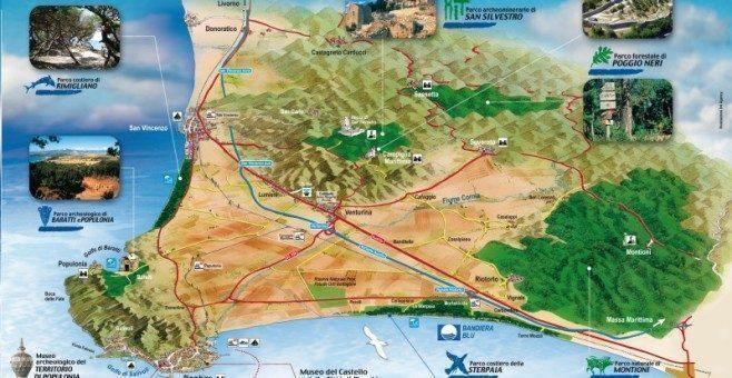 I Parchi della Val di Cornia, Toscana