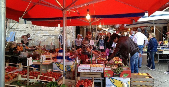 Mercati a Palermo: Ballarò, Vucciria, il Capo
