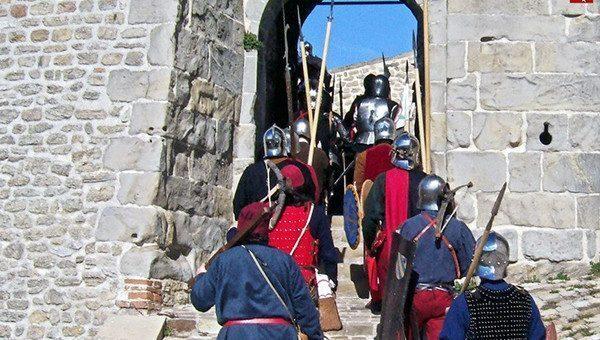Alla Rocca di San Leo, un fine settimana tra gli armigeri del 1469