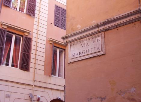 Vacanze Romane con Audrey Hepburn in Via Margutta