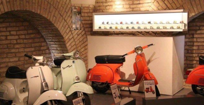 Spazio Vespa Museo a Roma grazie a Bici & Baci