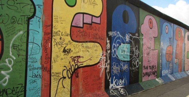 East Side Gallery a Berlino