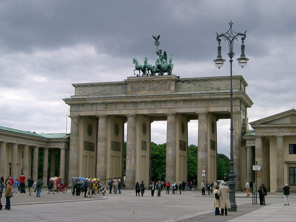 La porta di brandeburgo - Berlino porta di brandeburgo ...
