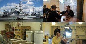 C'è una nave nel Tamigi: la HMS Belfast a Londra
