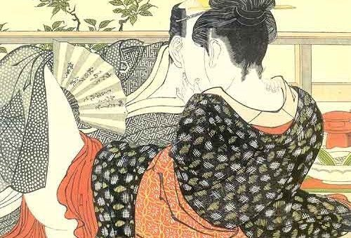 Shunga e l'arte giapponese al British Museum di Londra
