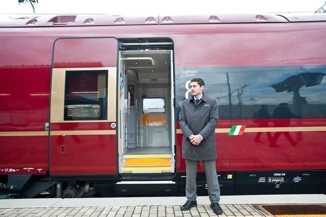 NTV's High Speed Train Makes Inaugural Journey