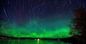 Vedere l'aurora boreale, pacchetto fai da te